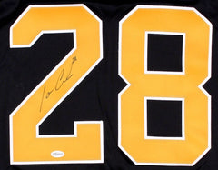 Ian Cole Signed Penguins Jersey (TSE) 18th Overall Pick 2007 NHL Draft