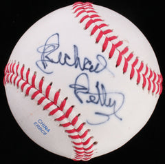 "Richard Petty ""The King"" Signed OL Baseball (PSA COA) 200 Career Nascar Wins"