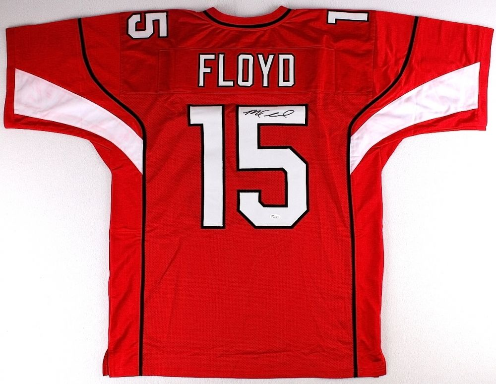 Michael Floyd Signed Arizona Cardinals Jersey (JSA COA)