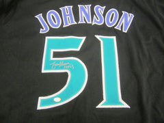 Randy Johnson Signed Diamondbacks Jersey / 5× Cy Young Award (1995, 1999–2002)