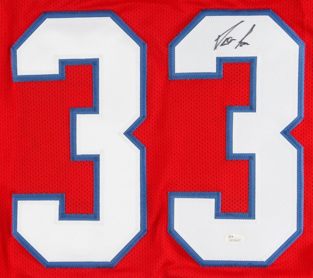 the latest 8a3a6 6a56b Dion Lewis Signed Patriots Jersey (JSA) 3 Touchdowns in 1 Playoff Game  01/15/17