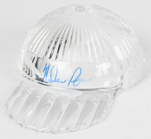 Nolan Ryan Signed Tiffany & Co. Crystal Cap / High Quality Display Case PSA COA