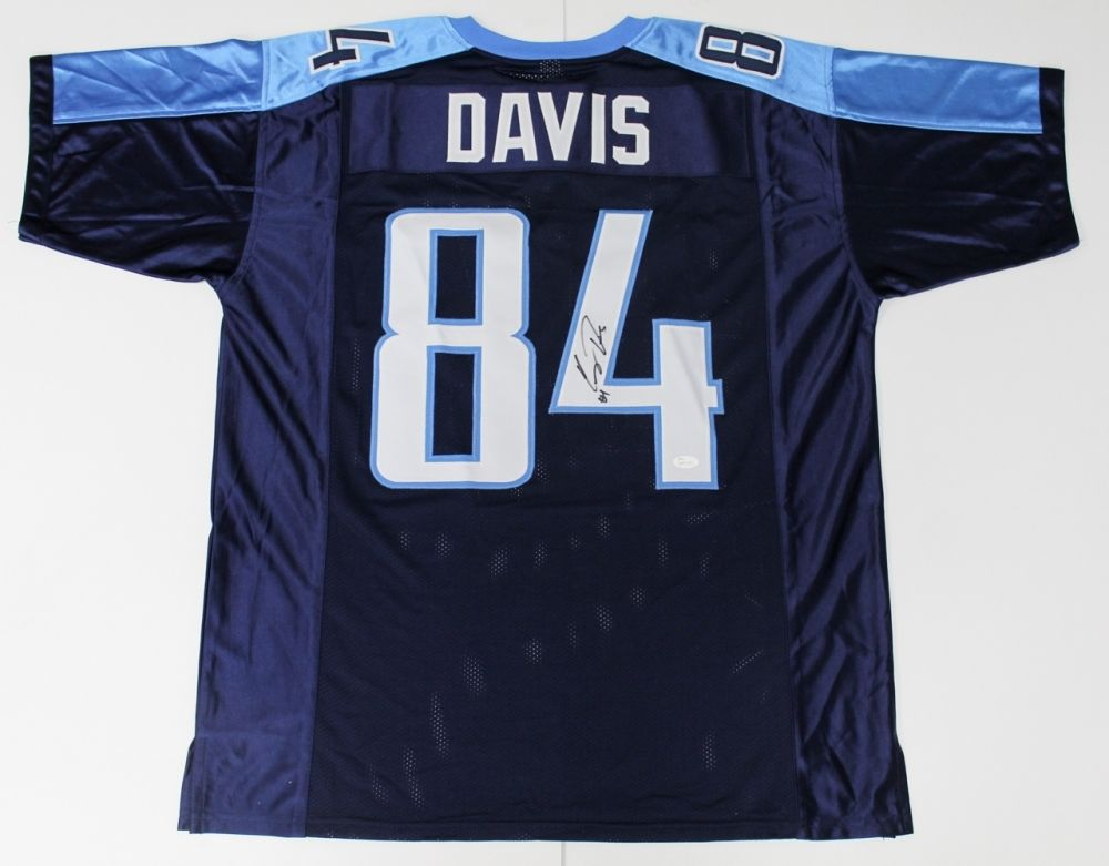 Corey Davis Signed Tennessee Titans Jersey /JSA 5th Overall Pick 2017 NFL Draft