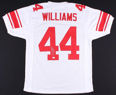 Andre Williams Signed Giants Jersey (JSA COA)