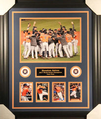 Houston Astros 2017 World Series Champions 23x27 Custom Framed Photo Display
