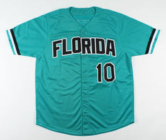 Gary Sheffield Signed Florida Marlins Jersey (PSA COA) 1997 World Series Champ