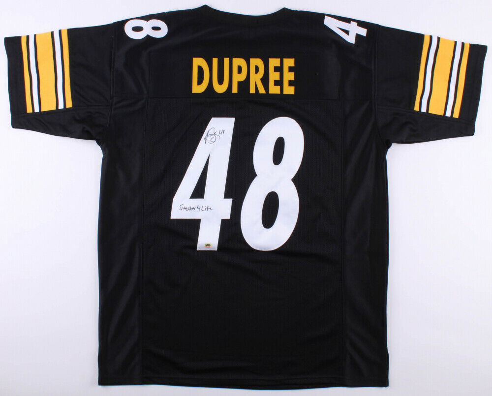 Bud Dupree Signed Pittsburgh Steelers Jersey Inscribed