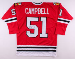 Brian Campbell Signed Blackhawks Jersey (Beckett) Playing career  1999–present