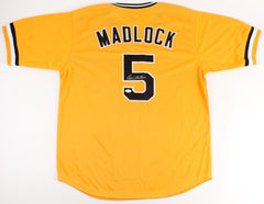 Bill Madlock Signed Pirates Jersey / 4×NL batting champion (1975,1976,1981,1983)