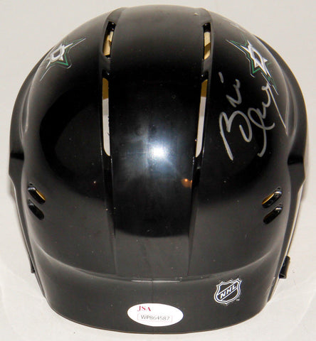 "Brett Hull Signed Dallas Stars Mini-Helmet Incribed ""HOF 2009"" (JSA COA)"