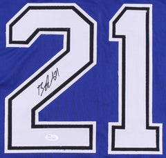 Brayden Point Signed Tampa Bay Lightning Jersey (JSA COA) 2nd Year Center