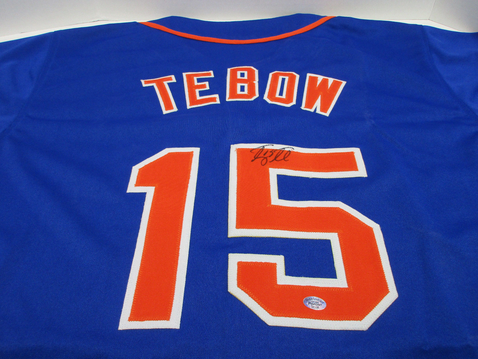 sale retailer 6a058 d2e0f Tim Tebow New York Mets signed jersey /Mets Minor Leaguer / Former Florida  Gator