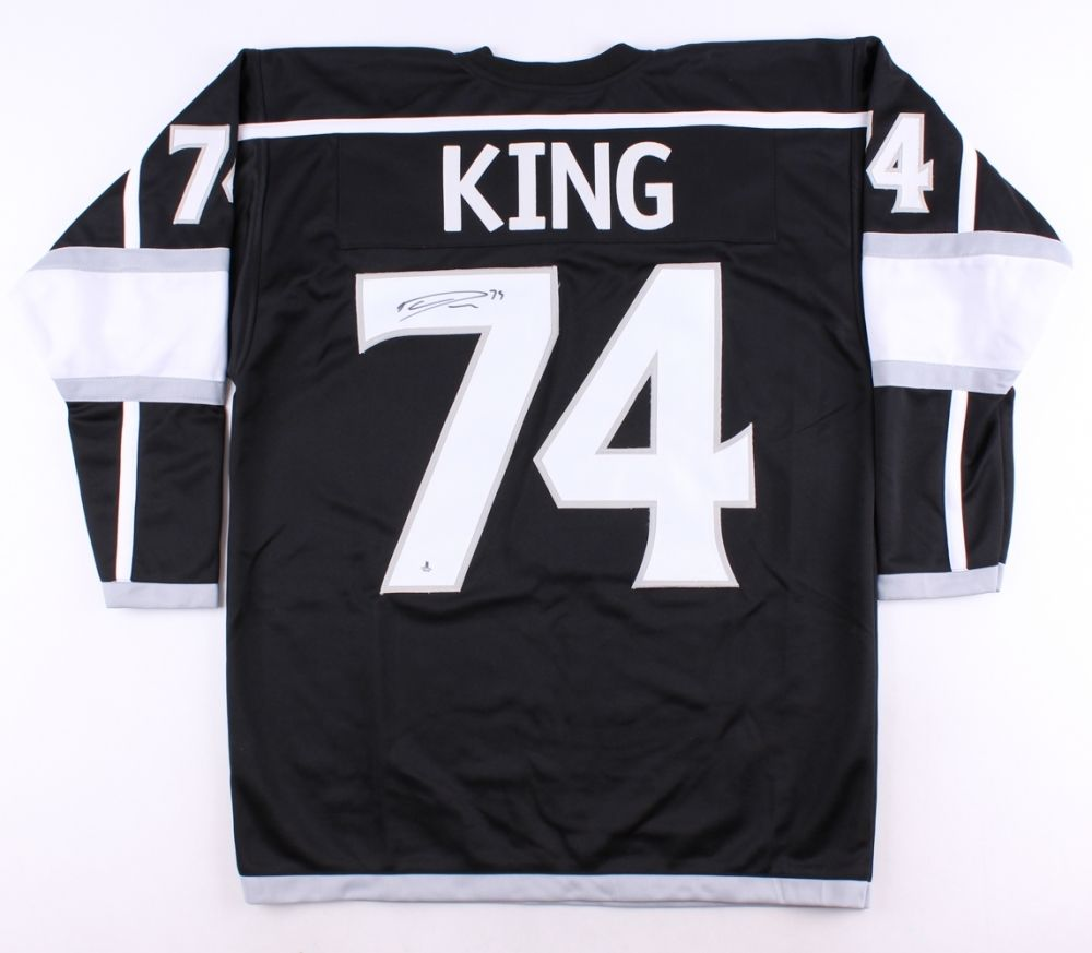 Dwight King Signed Kings Jersey (Beckett COA) Los Angeles Left Winger