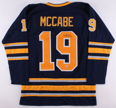 Jake McCabe Signed Sabres Jersey (Beckett COA) Playing career 2014–present