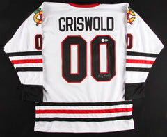 "Chevy Chase Signed ""Griswold"" Blackhawks Jersey (Beckett COA & Chevy Chase Holo)"