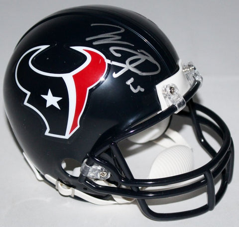 Will Fuller Signed Texans Mini Helmet (JSA COA) Houston's 2016 #1 Draft Pick
