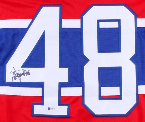 J. J. Daigneault Signed Canadiens Jersey (Beckett) Playing career  1984–2001