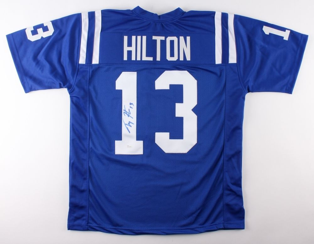 new product 245ed cb727 T. Y. Hilton Signed Colts Jersey (JSA COA) 3× Pro Bowl (2014–2016) Wide  Receiver