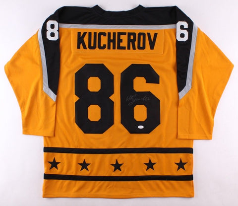Nikita Kucherov Signed 2017 All-Star Game Jersey (JSA COA) Lightning Right Wing
