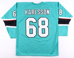 Melker Karlsson Signed Sharks Jersey (Beckett COA) San Jose Right Wing