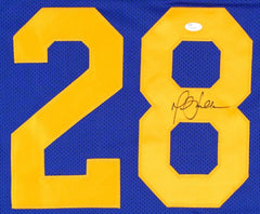 Marshall Faulk Signed Rams Jersey  (JSA COA) NFL Most Valuable Player (2000)