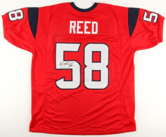 Brooks Reed Signed Texans Jersey (JSA) All Pro Defensive End / Atlanta Falcons