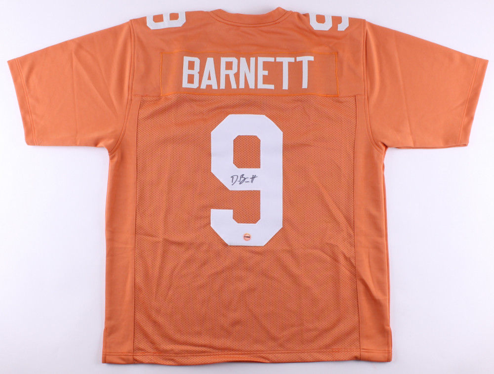 huge discount b4025 d01be Derek Barnett Signed Tennessee Volunteers Jersey (Fiterman) Eagles 2017 1st  Pick