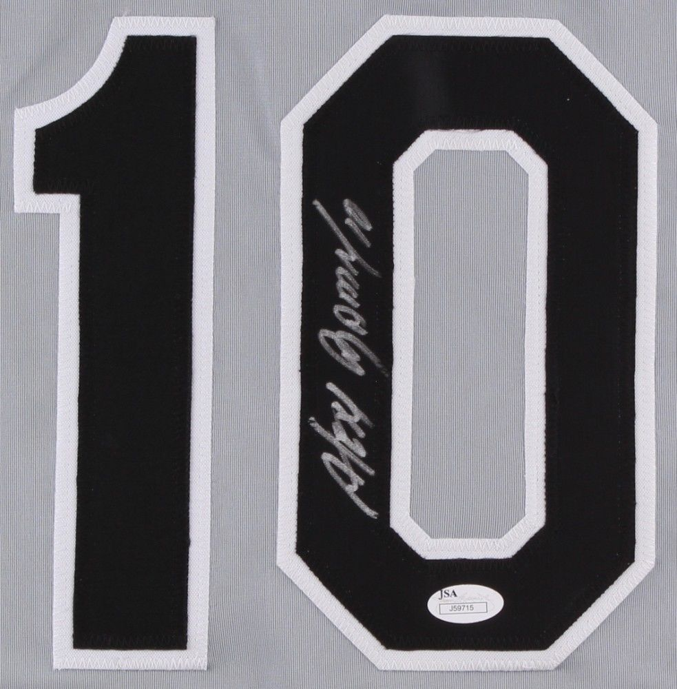 Alexei Ramirez Signed Chicago White Sox Jersey (JSA) All-Star Shortstop (2014)