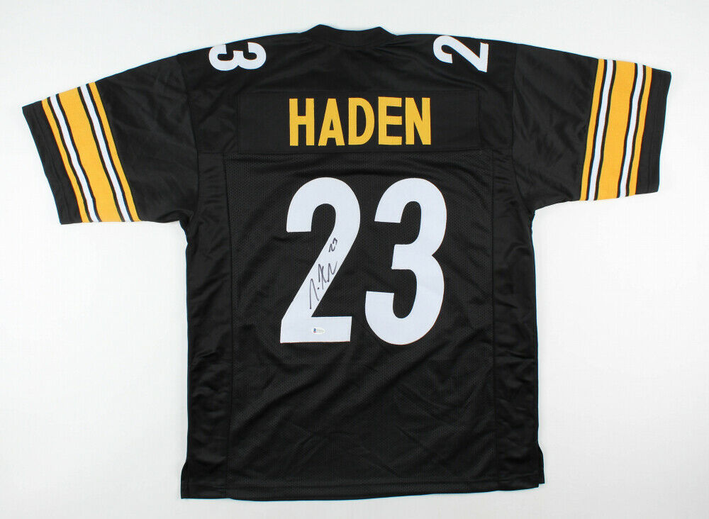 Joe Haden Signed Pittsburgh Steelers Jersey (Beckett Hologram)  2×Pro Bowl D.B.