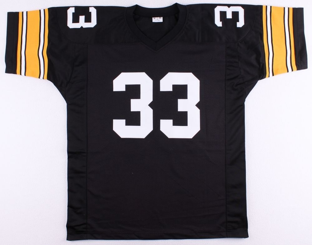 "John Fuqua Signed Steelers Jersey Inscribed ""The French Count "" (JSA COA) 1973"