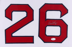 "Wade Boggs Signed Red Sox 35"" x 43"" Custom Framed Jersey (JSA) 12× All-Star"