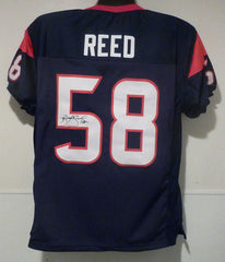Brooks Reed Signed Houston Texans Jersey (JSA) Defensive End / Atlanta Falcons