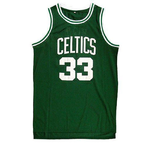 Larry Bird Signed  Boston Celtic Jersey (COA )  3× NBA Most Valuable Player
