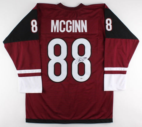 Jamie McGinn Signed Coyotes Jersey (Beckett) Playing career 2007–present