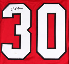 Ed Belfour Signed Blackhawks Jersey (JSA) Playing career 	1989–2008