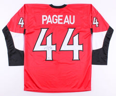 Jean-Gabriel Pageau Signed Senators Jersey (Beckett) 96th Overall pick 2011 drft