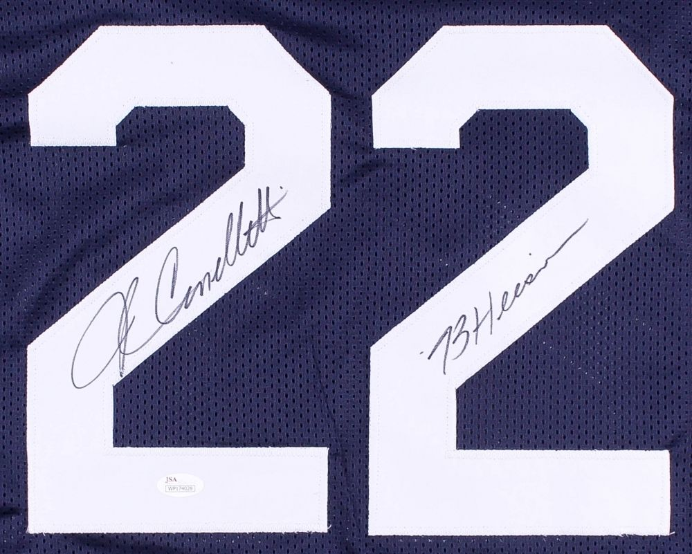 "John Cappelletti Signed Penn State Nittany Lions Jersey Inscribed ""73 Heisman"""