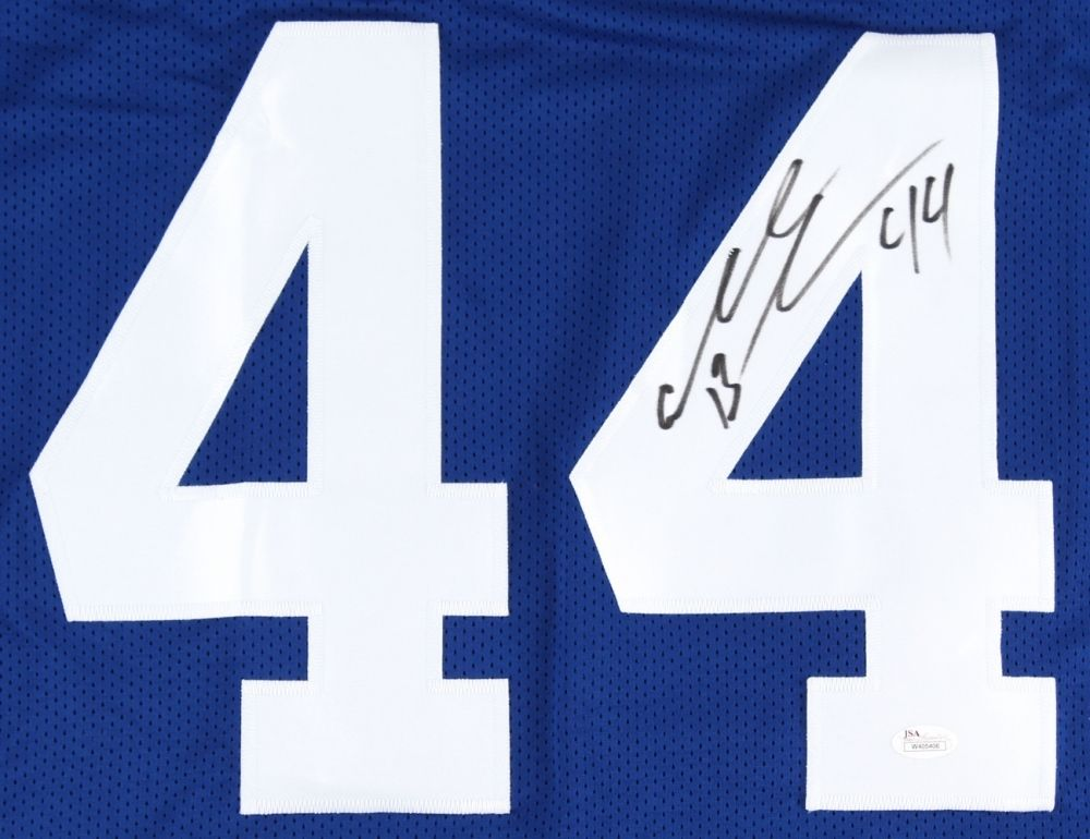 Ahmad Bradshaw Signed Colts Jersey (JSA) Indianapolis Running Back  2013−2015