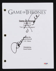 "Owen Teale Signed ""Game of Thrones: The Dance of the Dragons"" Episode Script PSA"