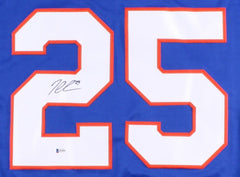 Jason Chimera Signed Islanders Jersey (Beckett COA) New York  Left Winger