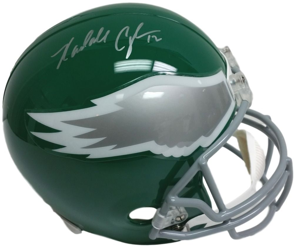 sports shoes 15818 308a3 Randall Cunningham Signed Eagles Throwback Full-Size Helmet (JSA ) Pro Bowl  QB