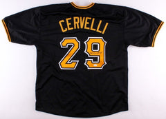 Francisco Cervelli Signed Black Pittsburgh Pirates Jersey (JSA Hologram)