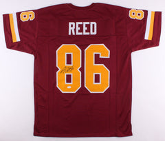 Jordan Reed Signed Redskins Jersey (JSA COA) 2016 Pro Bowl Tight End