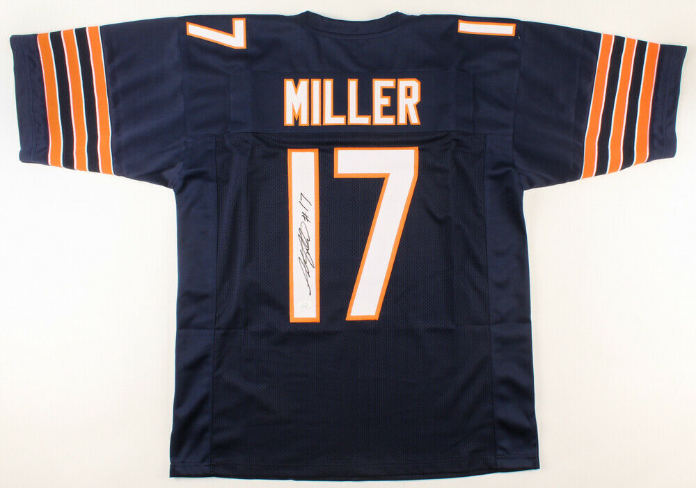 Anthony Miller Signed Chicago Bears Jersey (JSA COA) 2018 2nd Rd Draft Pick W.R.