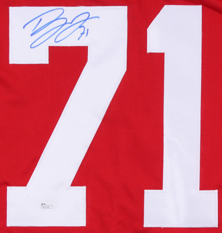 Dylan Larkin Signed Detroit Red Wings Jersey (JSA) Playing career 2015–present