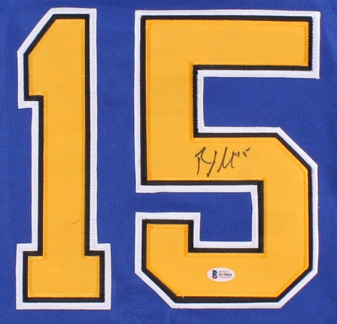 Robby Fabbri Signed St. Louis Blues Jersey (Beckett) St louis 1st Rnd Pick 2013