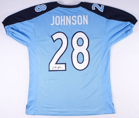 Chris Johnson Signed Tennessee Titans Jersey (JSA COA) 3× Pro Bowl (2008–2010)