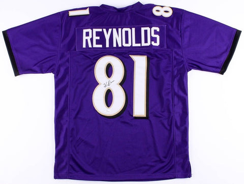 Keenan Reynolds Signed Ravens Jersey (JSA COA) Rookie Baltimore Wide Receiver