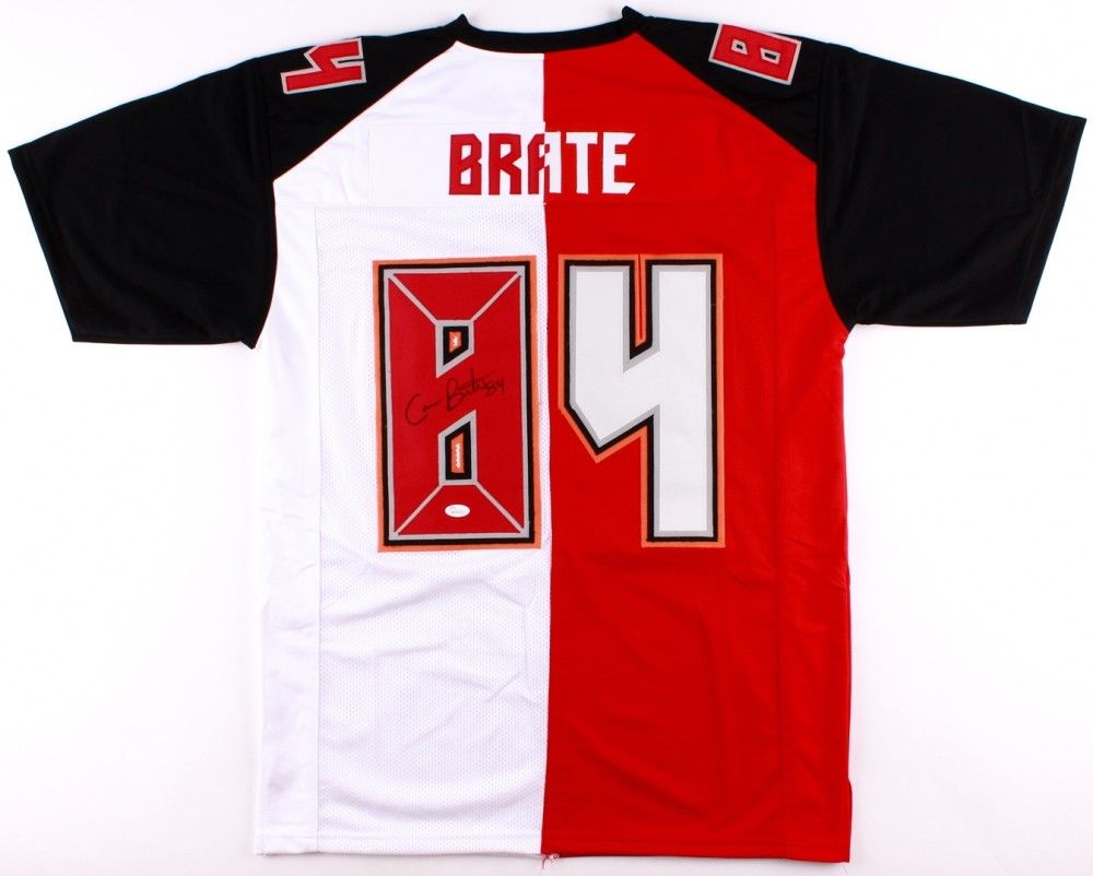 info for 15164 e561a Cameron Brate Signed Custom Buccaneers Jersey (JSA) Tampa Bay Bucs Tight End
