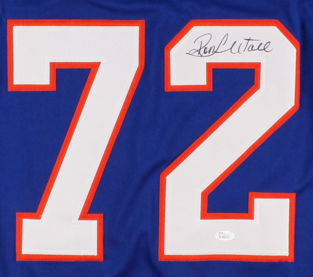 Ron Hextall Signed Islanders Jersey (JSA COA)  Current Flyers Genral Manager